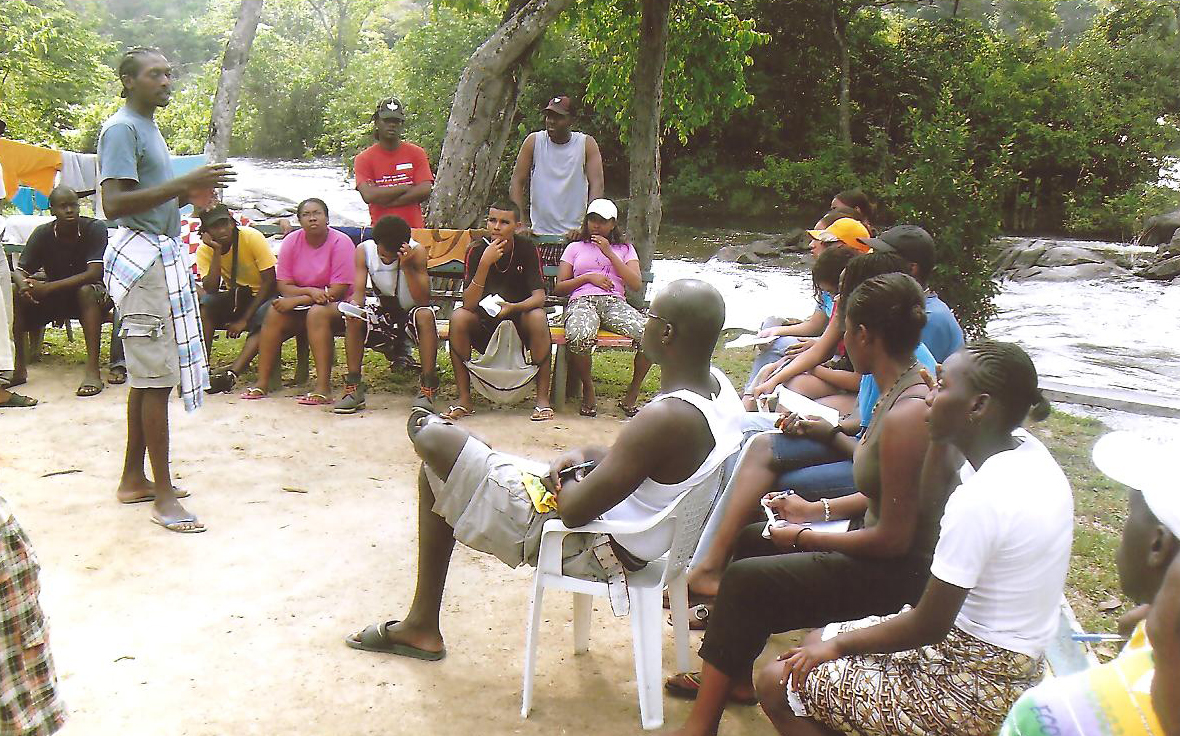 Opleiding tot veldgids Suriname 1