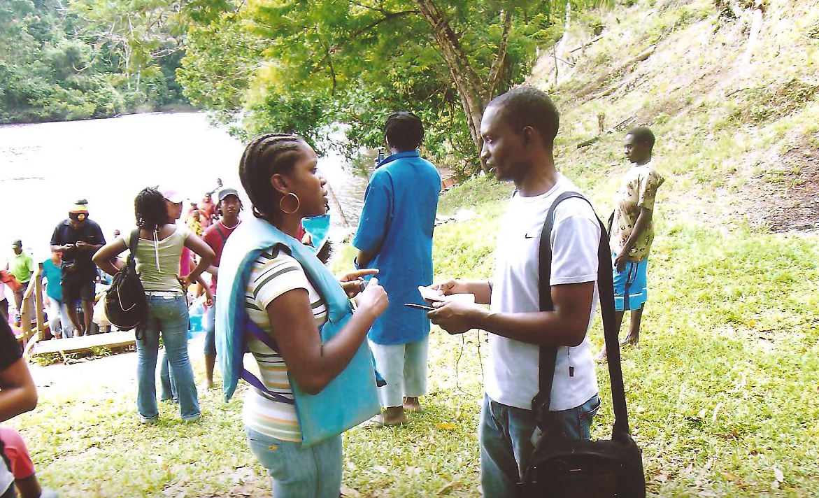 Opleiding tot veldgids Suriname 2