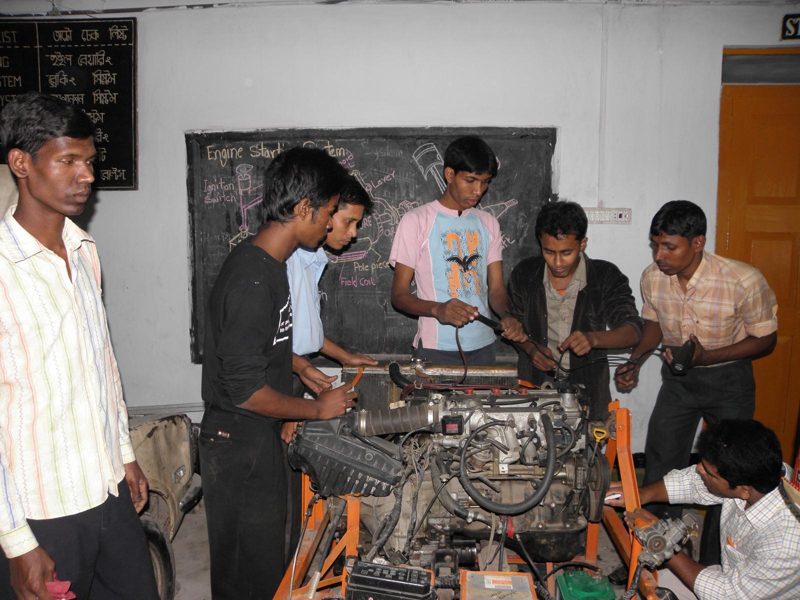 Bangla Desh Kerk in actie