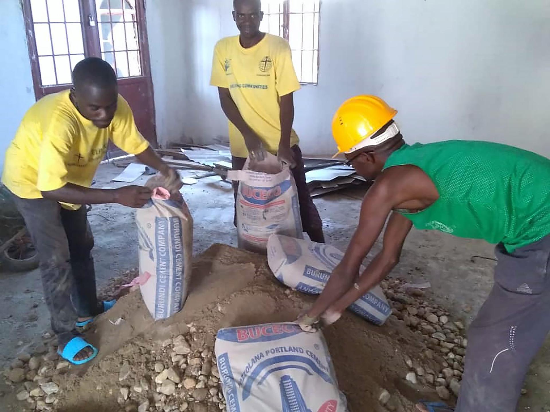 Mobiele opleiding Burundi