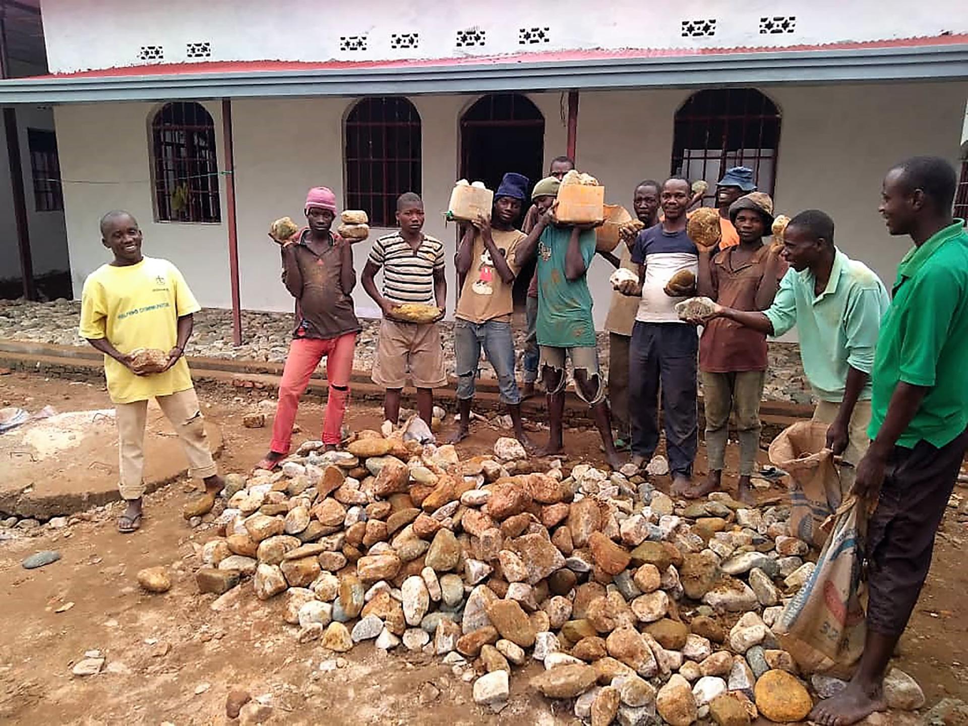 Mobiele school handel- vakopleiding Burundi