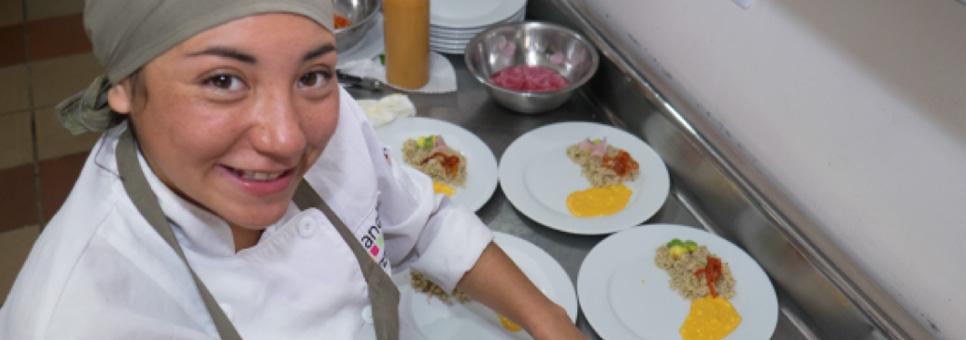Koken tegen armoede Colombia