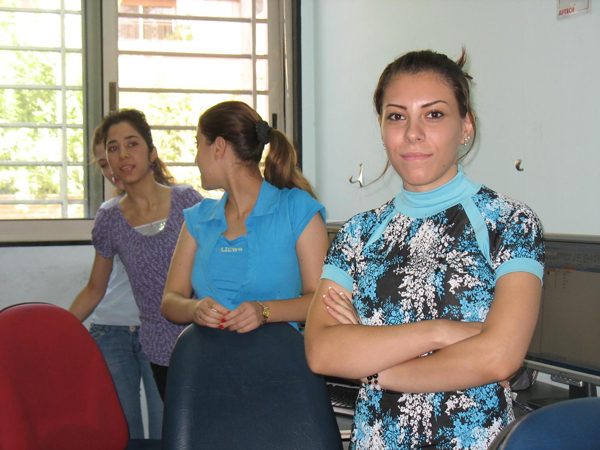 Syrie goc beroepstraining voor jonge vrouwen