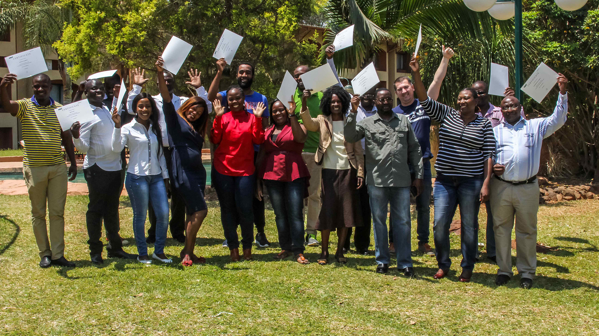 training kleine middelgrote ondernemers Zambia