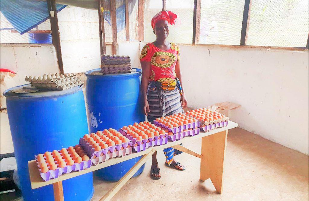 Stepping stone Liberia